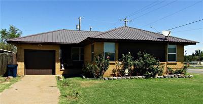 Anadarko Single Family Home For Sale: 601 Mission