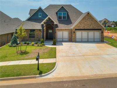 Lincoln County, Oklahoma County Single Family Home For Sale: 8124 Crew Lane