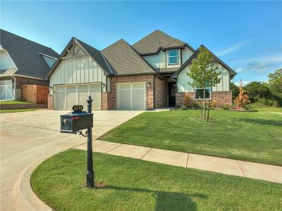 Lincoln County, Oklahoma County Single Family Home For Sale: 8201 Crew Lane