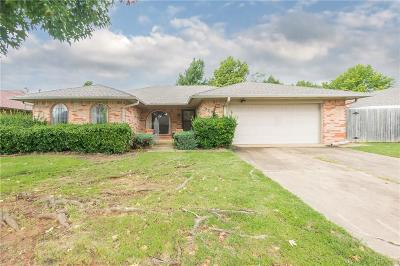 Moore Single Family Home For Sale: 2309 Cowan Place