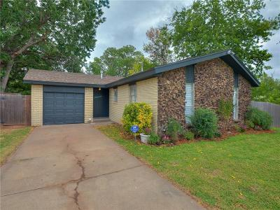 Oklahoma City Single Family Home For Sale: 7952 S McKinley