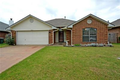 Edmond Single Family Home For Sale: 1800 Pinnacle Lane