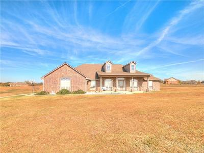 Purcell Single Family Home For Sale: 19650 Longview Lane