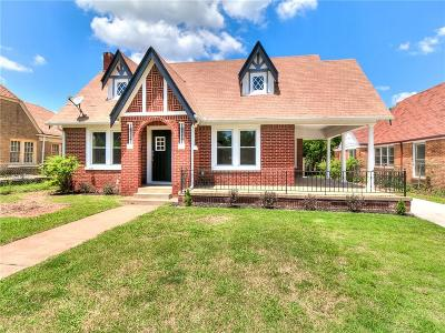 Oklahoma City Single Family Home For Sale: 917 NE 20th Street