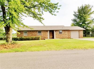 Chickasha Single Family Home For Sale: 35 Miller Drive