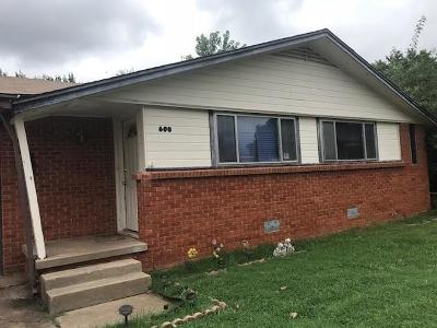 Midwest City Single Family Home For Sale: 600 Crosby Boulevard