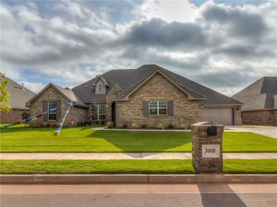 Edmond Single Family Home For Sale: 3008 Warwick Place