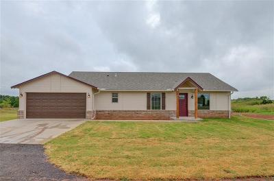 Blanchard OK Single Family Home For Sale: $142,900