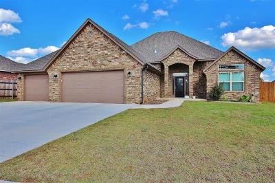 Blanchard OK Single Family Home For Sale: $205,000