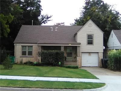 Oklahoma City Single Family Home For Sale: 3430 NW 16th Street