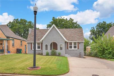 Oklahoma City Single Family Home For Sale: 2841 NW 22nd Street