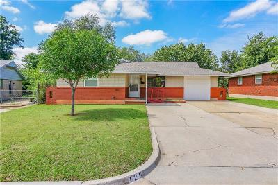 Moore Single Family Home For Sale: 129 S Dallas