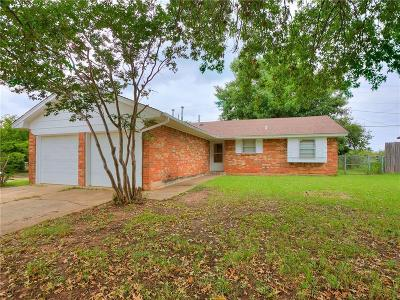 Edmond Single Family Home For Sale: 633 W 7th Street