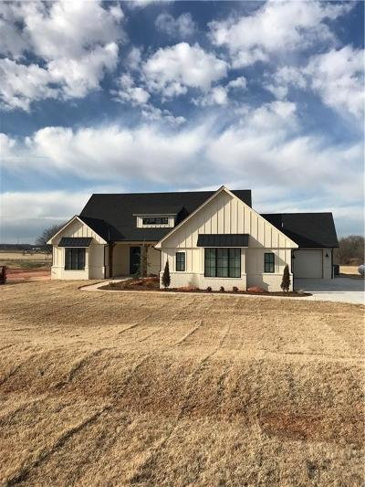 Blanchard OK Single Family Home For Sale: $336,500