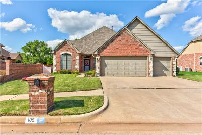 Edmond Single Family Home For Sale: 105 NW 147th Street
