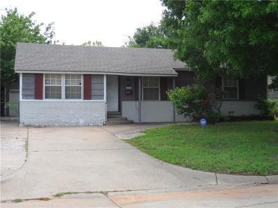 Midwest City Single Family Home For Sale: 3516 Brookside Drive