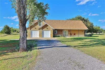 Blanchard OK Single Family Home For Sale: $180,000