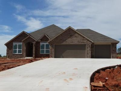 Blanchard OK Single Family Home For Sale: $239,900