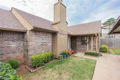 Oklahoma City Condo/Townhouse For Sale: 6816 NW 63rd Terrace