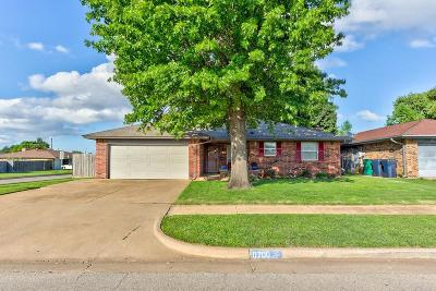 Oklahoma City OK Single Family Home For Sale: $125,000