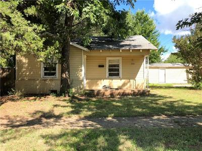 Chickasha Single Family Home For Sale: 515 S 7th Street