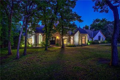 Single Family Home For Sale: 6814 Cypress Hollow