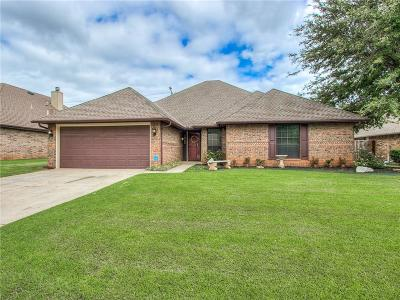 Edmond Single Family Home For Sale: 16704 Valley Crest