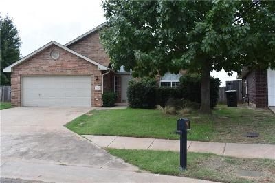 Edmond Single Family Home For Sale: 21855 Homesteaders Place