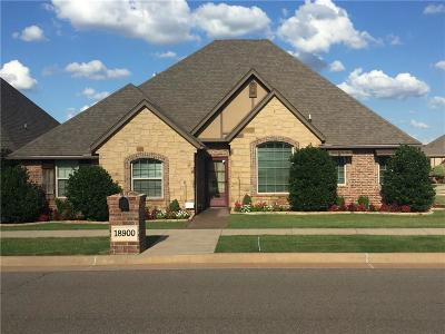 Edmond Single Family Home For Sale: 18900 Butterfly Boulevard