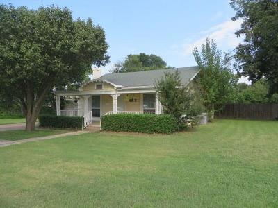 Chickasha Single Family Home For Sale: 1123 S 18th Street