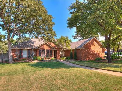 Edmond Single Family Home For Sale: 3813 Anadarko
