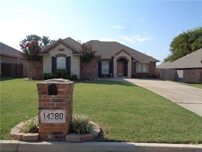 Choctaw Single Family Home For Sale: 14380 Glenview Drive
