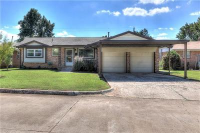 Del City Single Family Home For Sale: 4724 Gina Place