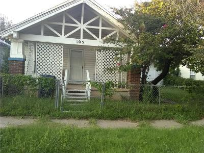 Oklahoma City OK Single Family Home For Sale: $29,900