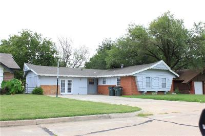Del City Single Family Home For Sale: 1308 Beechwood Drive