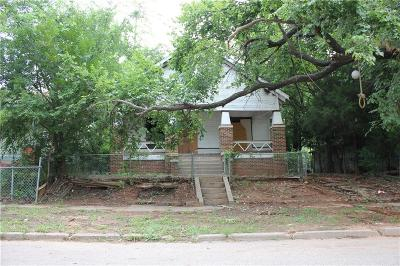 Oklahoma City Single Family Home For Sale: 1737 NW 8th Street
