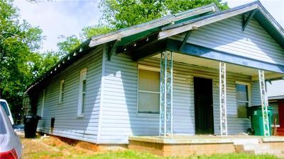 Oklahoma City OK Single Family Home For Sale: $29,000