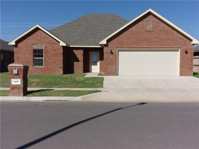 Altus Single Family Home For Sale: 1405 Dustbowl Lane