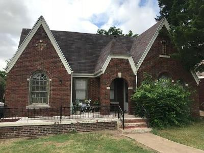 Oklahoma City OK Single Family Home For Sale: $119,000