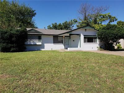 Oklahoma City OK Single Family Home For Sale: $89,900