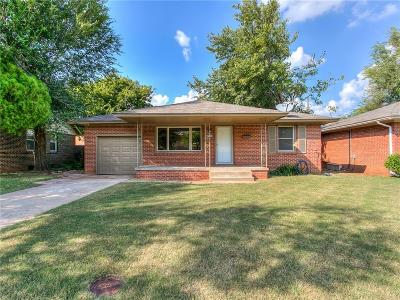 Oklahoma City OK Single Family Home For Sale: $135,000