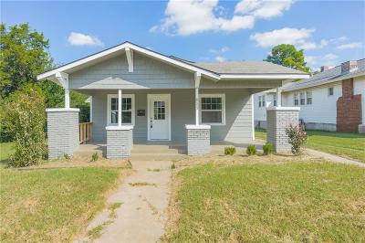 Oklahoma City OK Single Family Home For Sale: $169,500