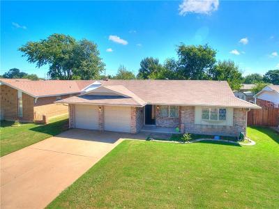 Del City Single Family Home For Sale: 4008 Kim Drive