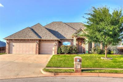 Edmond Single Family Home For Sale: 833 Sea Biscuit Drive
