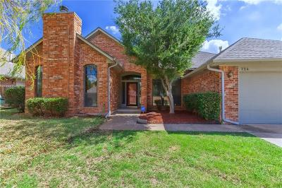 Edmond Single Family Home For Sale: 724 Copperfield Drive