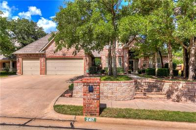 Edmond Single Family Home For Sale: 2417 Ashebury Way