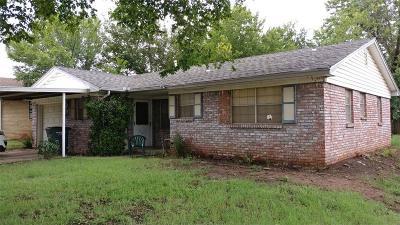Del City Single Family Home For Sale: 4725 Spiva