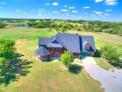 Chickasha Single Family Home For Sale: 1322 County Rd 1340