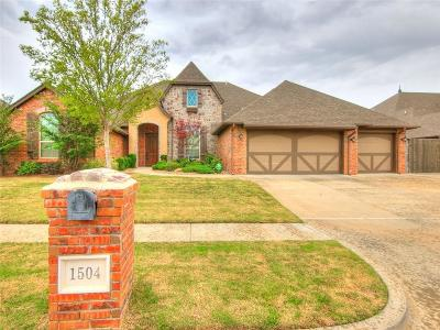 Edmond Single Family Home For Sale: 1504 NW 188th Street