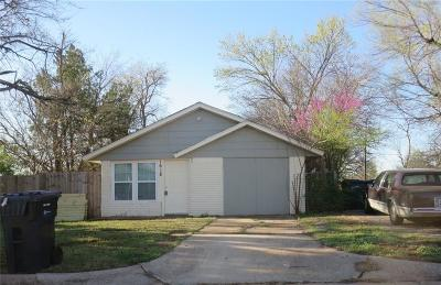 Oklahoma City Single Family Home For Sale: 1618 Bishop Bobby L Williams Drive